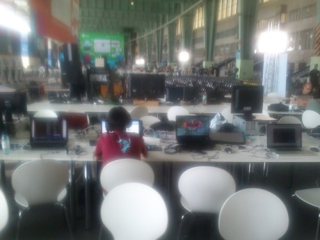 Campus Party 2012 Computer Places